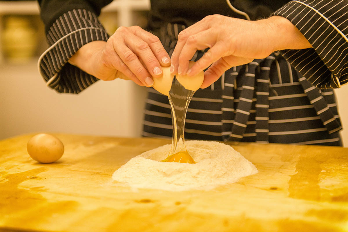 Cooking classes in a farmhouse in Cortona